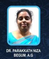 Dr Parkkath Niza Begum