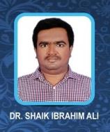 Dr Shaik Ibrahim Ali