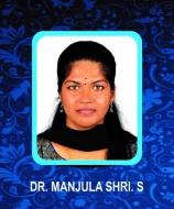 Dr Manjula shri.S