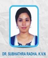 Dr Subhathra Radha K.V.N